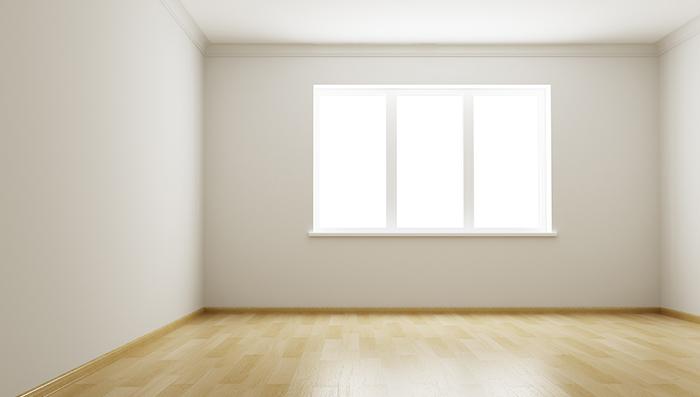 3d rendering the empty room