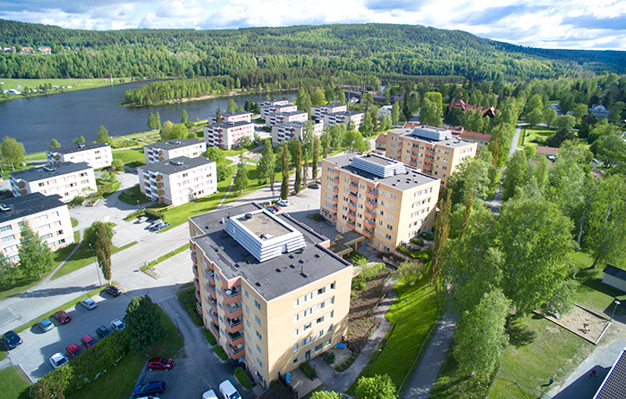 Solgården Sollefteå/ Energieffektivisering