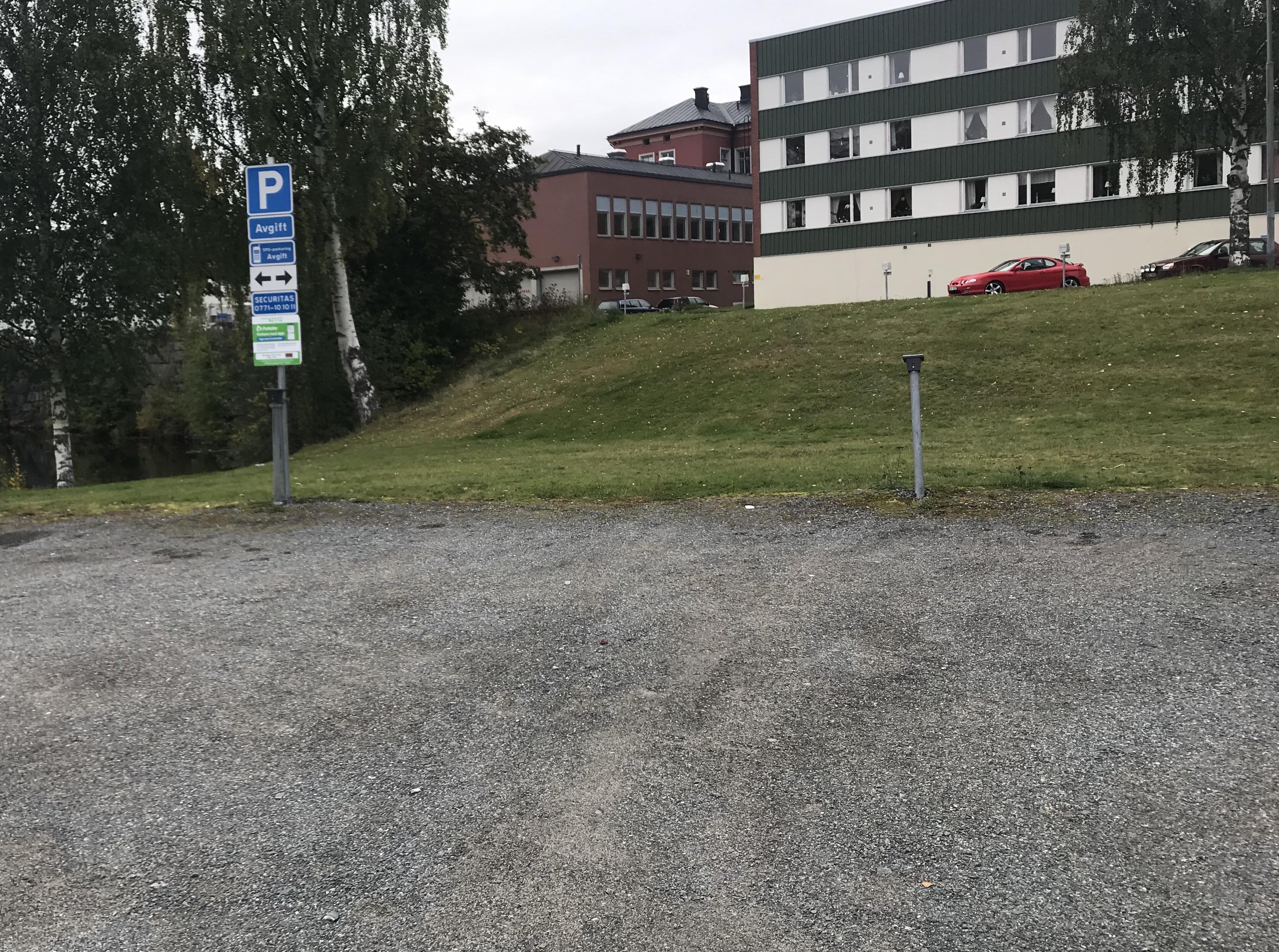 Parkster på våra gästparkeringar
